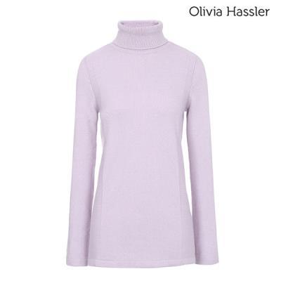 [겨울상품] [올리비아하슬러] 터틀넥 니트 티셔츠