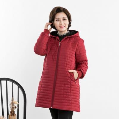 엄마옷 마담4060 윈터시보리점퍼-QJP010016-