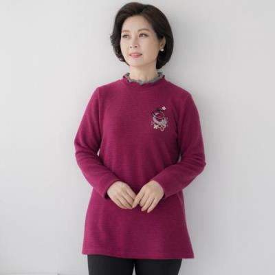 엄마옷 마담4060 파이브자가드티셔츠-QTE010050-