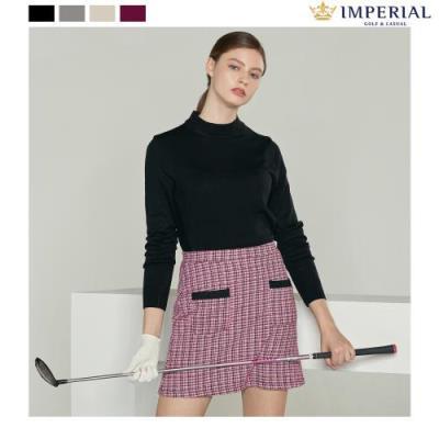 [임페리얼] 여성 하프넥 웜 스웨터 3colors (PPZ240s)