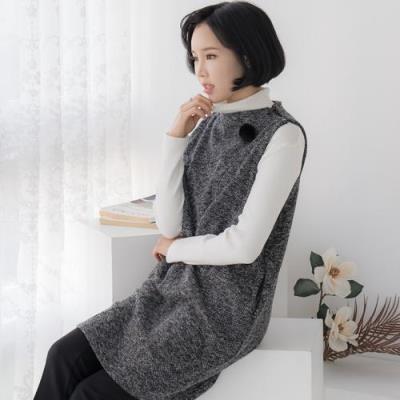 엄마옷 마담4060 세컨보카시베스트-QVE011016-