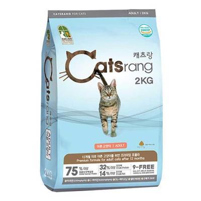 맛있는 반려묘 건식사료 Catsrang 어덜트 2kg