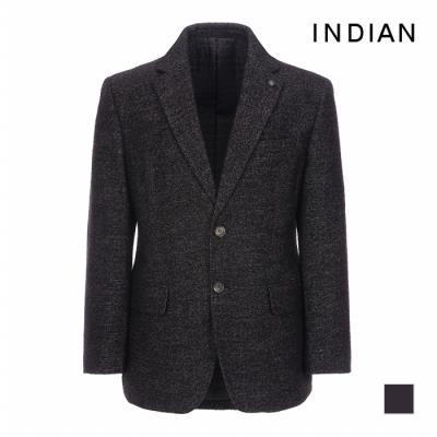 [INDIAN] 믹스얀 마이크로 체크 패딩 자켓_MITFUSCA311