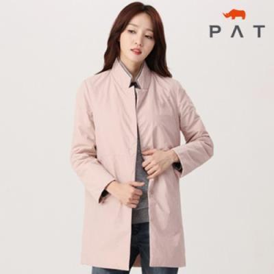 PAT 여성 니트패치 패딩 자켓-1E81201