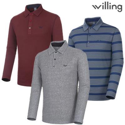 [윌링] 겨울 남성 기모티셔츠 균일가 (LDS-20TS)