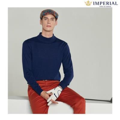 [임페리얼] 남성 하프넥 웜 스웨터 네이비 (IPZ240249)