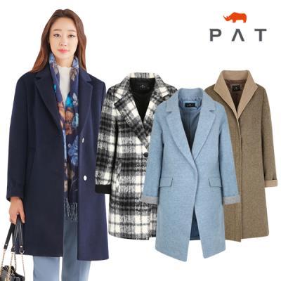 [PAT 여성] 스타일부터 보온까지 꽉잡은 코트/택일