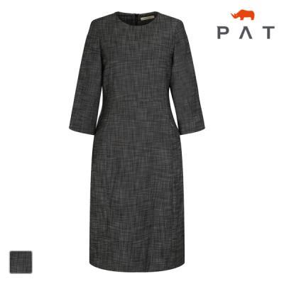 PAT 여성 심플 저지 원피스-QC82801