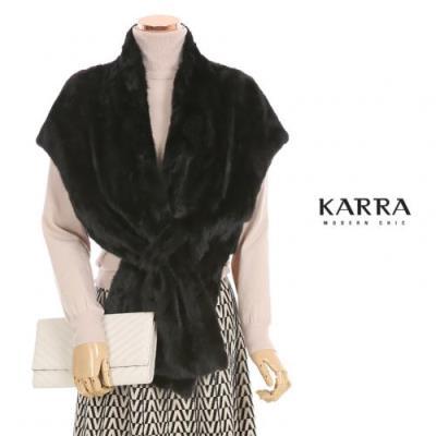 KARRA (77까지)천연밍크꼬임볼레로베스트_KB0WVT528M