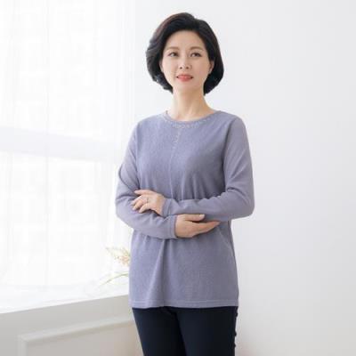 엄마옷 마담4060 은은한매력티셔츠-QTE101025-