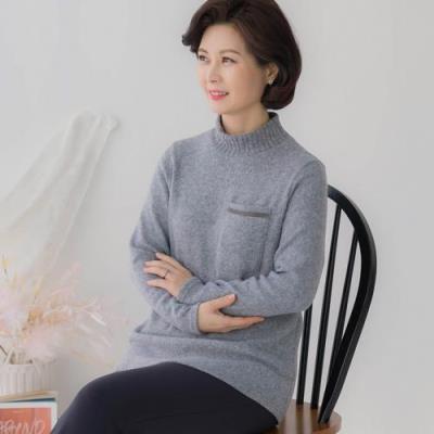 엄마옷 마담4060 앤드포켓티셔츠-QTE101007-