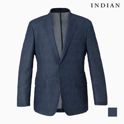 [INDIAN] 투톤 잔조직 자켓_MITFUVS2111