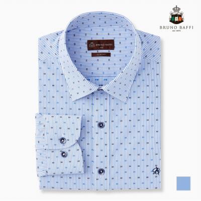 [BRUNO BAFFI] 세로단가라 잔무늬 드레스셔츠_MABTLVS1121