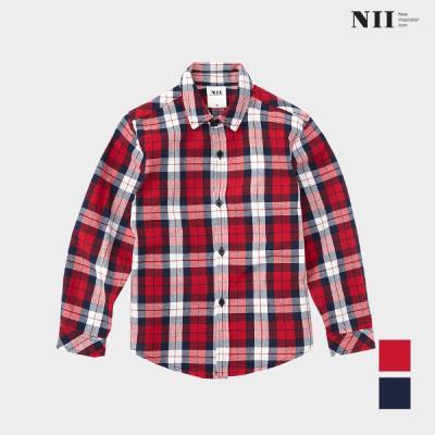 [NII] 아동 캐주얼 멀티 체크 셔츠_NNKNLVS1301