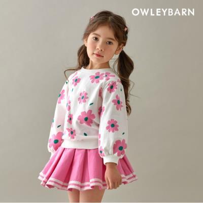 [올리반] 데이지맨투맨(핑크)