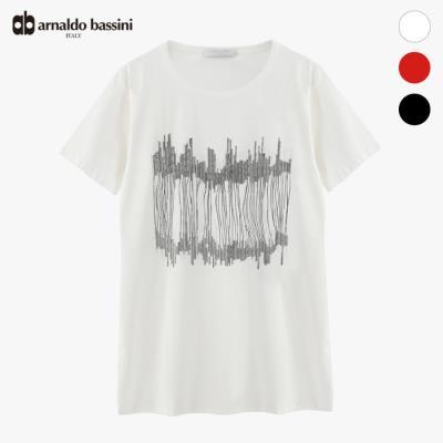 (아날도바시니) 핫픽스 나염 롱 티셔츠(MS06TS44M)