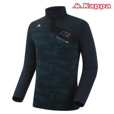 [카파] 남성 카모플라주 반집업 티셔츠 (KKRL101MN-DGN)