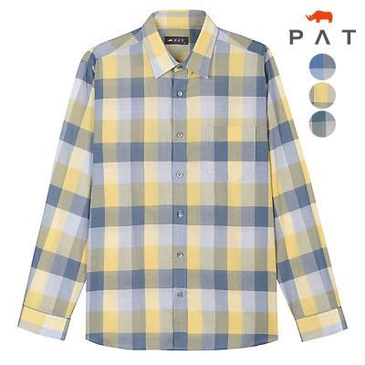 [PAT 남성]코튼체크 셔츠_1D11513