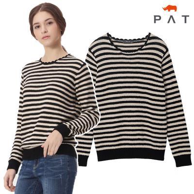 [PAT여성]스칼럽 스웨터_QF23301