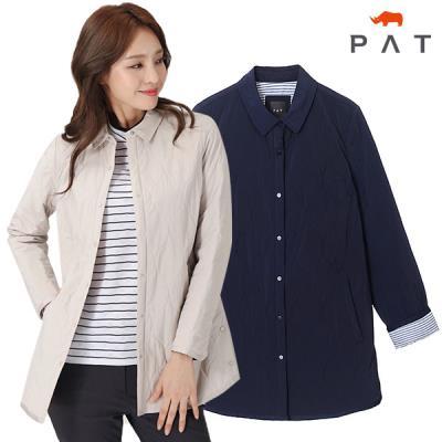 [PAT여성]항아리 퀼팅 패딩셔츠_QF21501