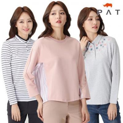 [PAT여성]균일가 소재가 좋은 데일리 티셔츠 22종택일