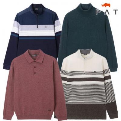 [PAT 남성]균일가 코디가 편한 티셔츠/니트 10종택일