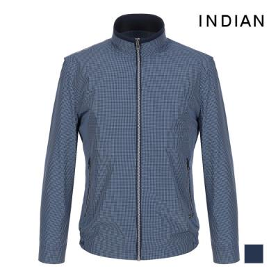 [INDIAN] 미니 체크 패턴 점퍼_MIGCLTS2151