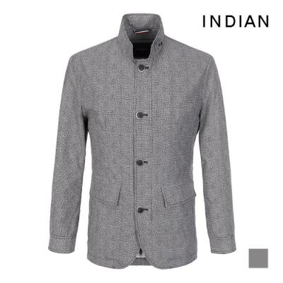 [INDIAN] 체크 패턴 폴리100 사파리_MITKATS2211