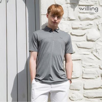 [이동수윌링] 남성 쿨 스트래치 셔츠 WH7BMTS305_GY