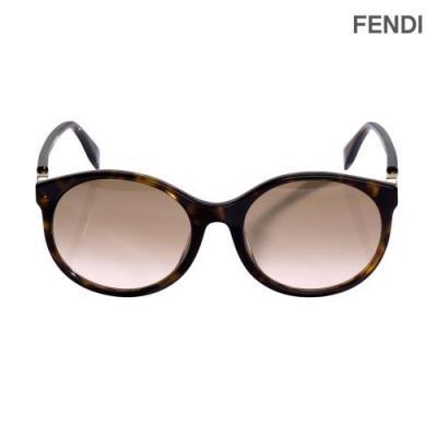 FENDI 펜디 라운드 하바나 오버핏 선글라스 FF0362FS_086