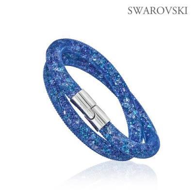 Swarovski 스와로브스키 스타더스트 블루 더블 팔찌 5221604