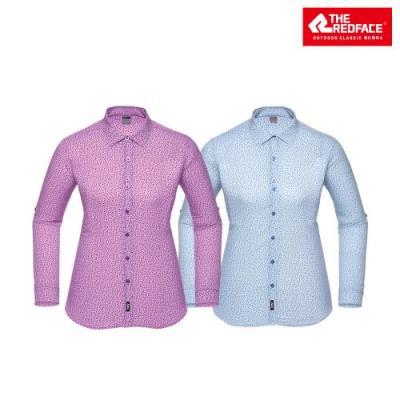 [레드페이스 본사] 여성 블로섬 라이트 롱 우먼 셔츠 REWFWSS17050