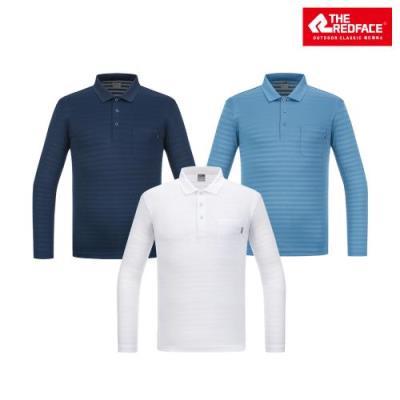 [레드페이스 본사] 남성 베이스 요꼬칼라 티셔츠 REWMTSS20210