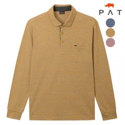 [PAT 남성][2021년 신상]미니 스트라이프 티셔츠_1H15182