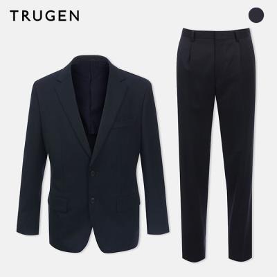 (트루젠) 클래식핏 모혼방 투버튼 정장세트 (TG7S1MTJ010_S)