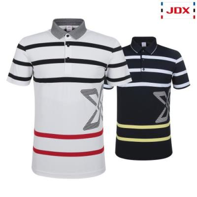 [JDX] 남성 스트라이프 선염PQ카라 티셔츠 2종 택1 (X1RMTSM17)