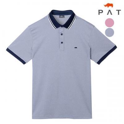 [PAT 남성]기획 캐주얼 투톤요꼬카라 티셔츠_1F35282