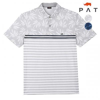 [PAT 남성]모티브 프린트 카라 티셔츠_1F35103