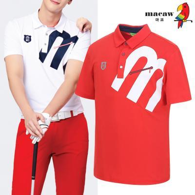 (남성)M포인트 카라 반팔 티셔츠_MIM2TS65
