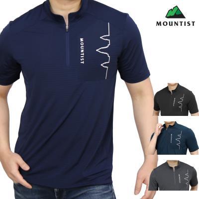 [마운티스트] 남성 마운틴 집업티셔츠