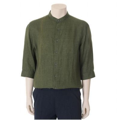 카키 캐주얼 셔츠 (WST2TT68A)