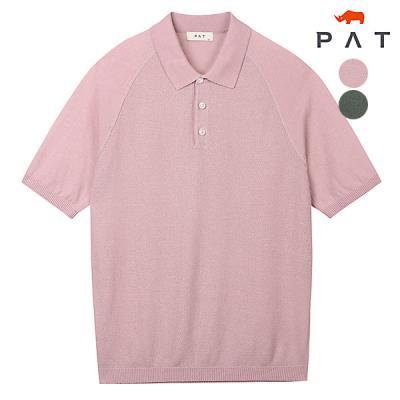 [PAT 남성]반팔 라글란 폴로 썸머니트_QF33601