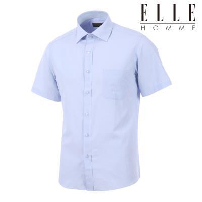 [엘르옴므] 스킵도비 레귤러핏 반소매셔츠 E193R-34092
