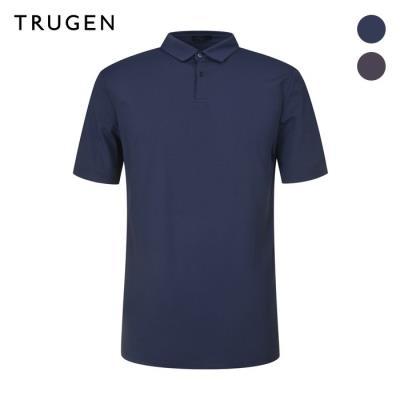 (트루젠) 투버튼 베이직 카라 티셔츠 (TG9U4-MKS010)