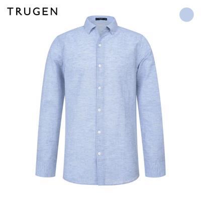 (트루젠) 린넨혼방 스트라이프 캐주얼셔츠 (TG9U4-MRC710)