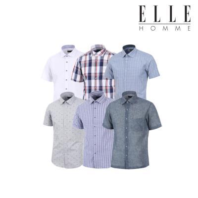 ▣엘르옴므▣ 기간한정 무료배송 여름반소매셔츠 특가대전 20종 택 1 반팔셔츠묶음
