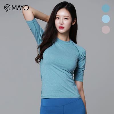 (마요) 기능성 카치온 라운드 티셔츠(M8TS0188_01)