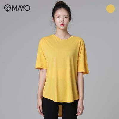 (마요) 백 커버 업 루즈핏 티셔츠(MYR5596)