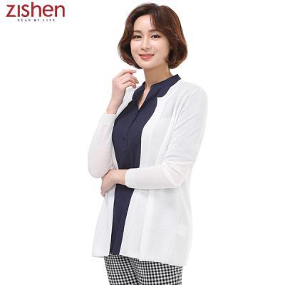 [지센]솔리드 숏 가디건-ZJCKT422