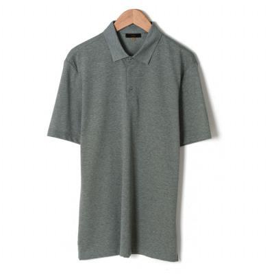 그린 심플 카라 티셔츠 (BSU2KF04A) (BSU2KF04A)